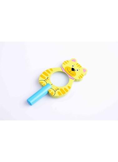 Hayvan Figürlü Ahşap Büyüteç-Learning Toys